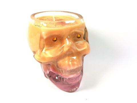 Passion Fruit Skull Candle