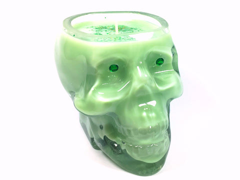 May Chang Skull Candle