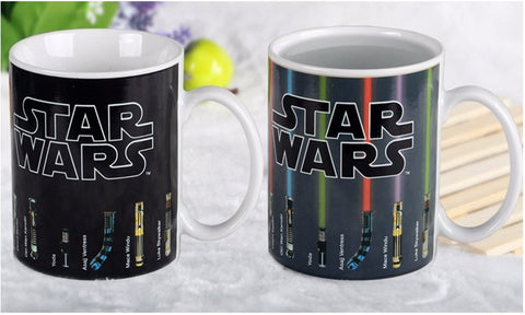 Star Wars Lightsaber Cup Color Changing Mug