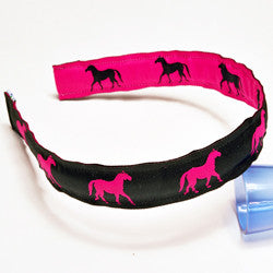 "1"" Frisky Fillies Girls Headband"