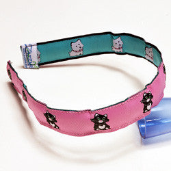 "1"" Girl's Best Friends Headband"