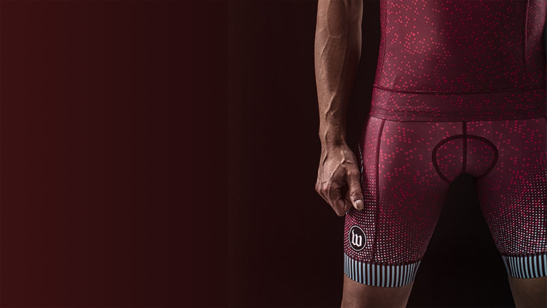 Maroon Cycling Pants