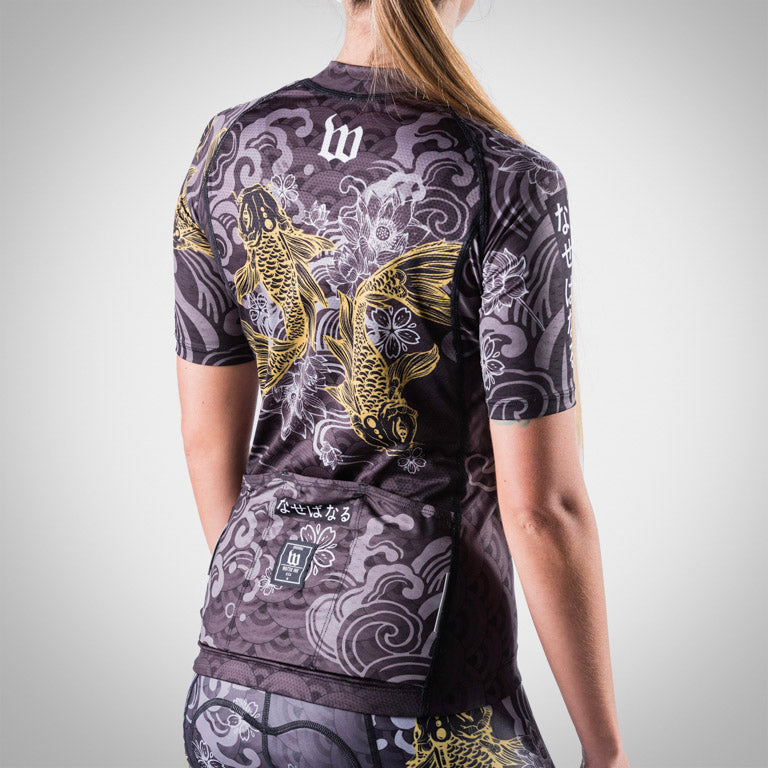 Women's BlackFish2 Gold Edition Cycling Jersey