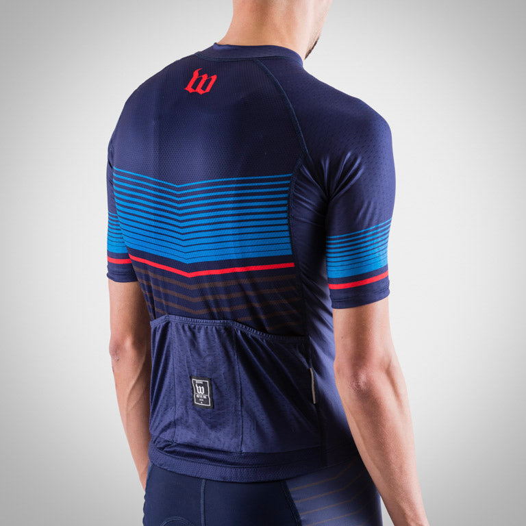 Men's Race Day Cycling Jersey - Navy