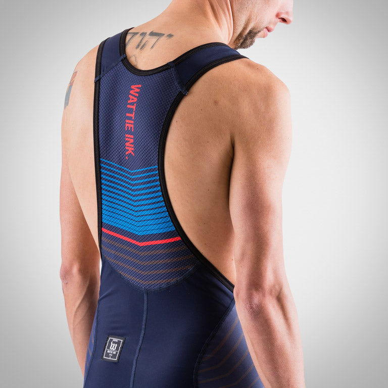 Men's Race Day Bib Short - Navy