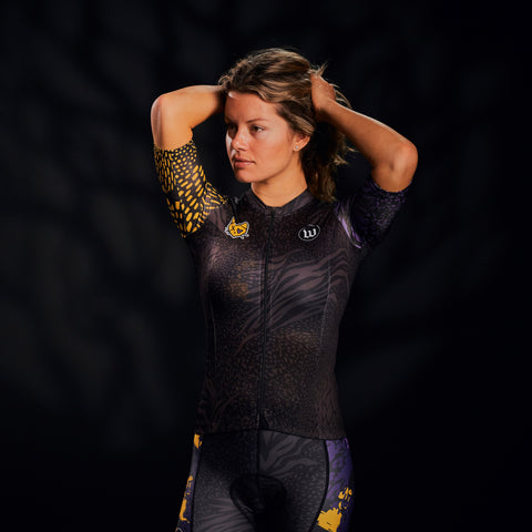 Women's Super Kitty 5 Contender 2.0 SS Cycling Jersey-hover