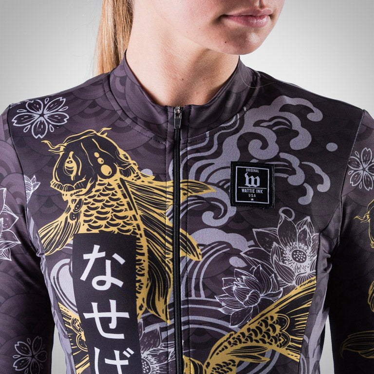 Women's BlackFish2 Gold Edition Long Sleeve Jersey