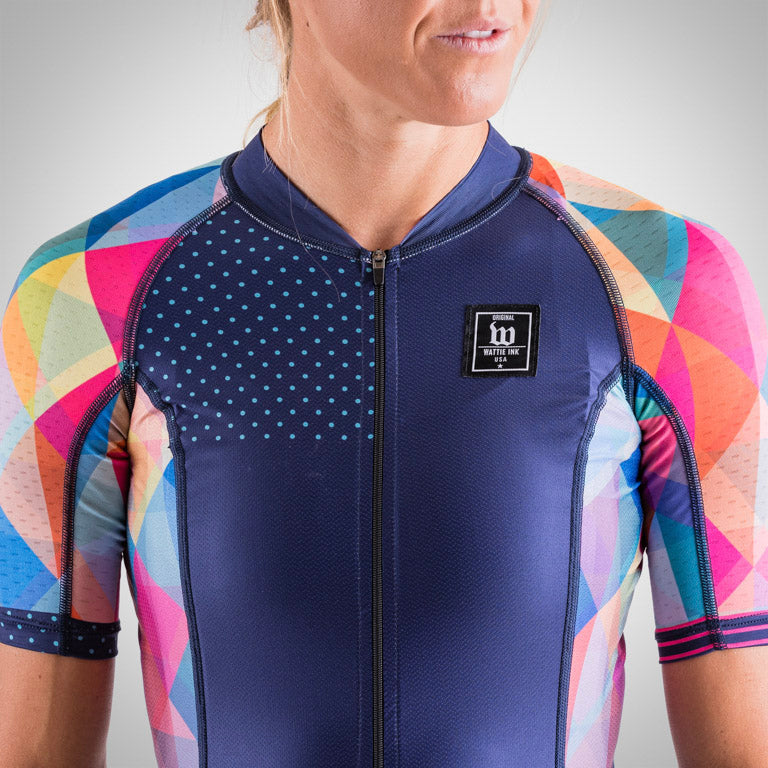 fb30bff15 ... Women s Prism Navy Contender 2 Cycling Jersey ...