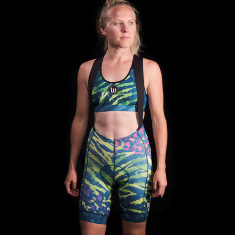 Women's Super Kitty 4 Endurance Cargo Bib Short