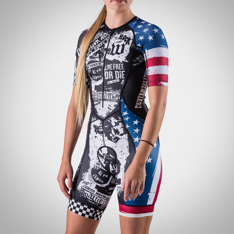 Women's American Punk Collection Speedsuit