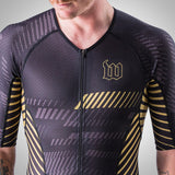 Men's Champion 2.0 Triathlon Speed-Suit - AXIOM Collection - Gold/Black