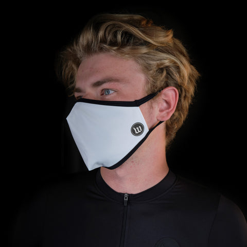 Mask Five Pack - White-hover