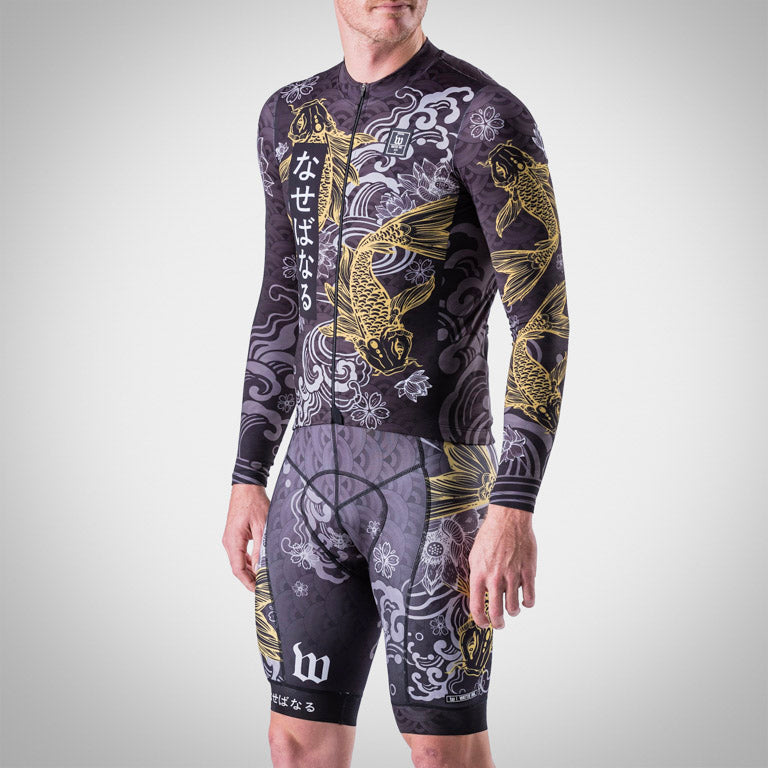 Men's BlackFish 2 Gold Edition Long Sleeve Jersey