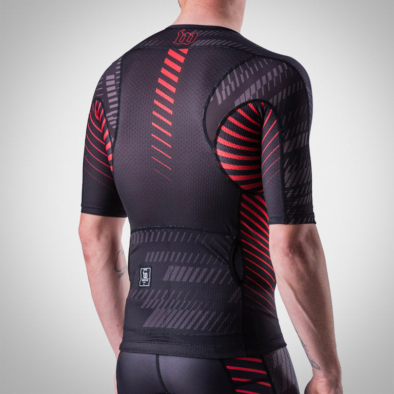Men's Champion Aero Jersey - AXIOM Collection - Rosso/Black