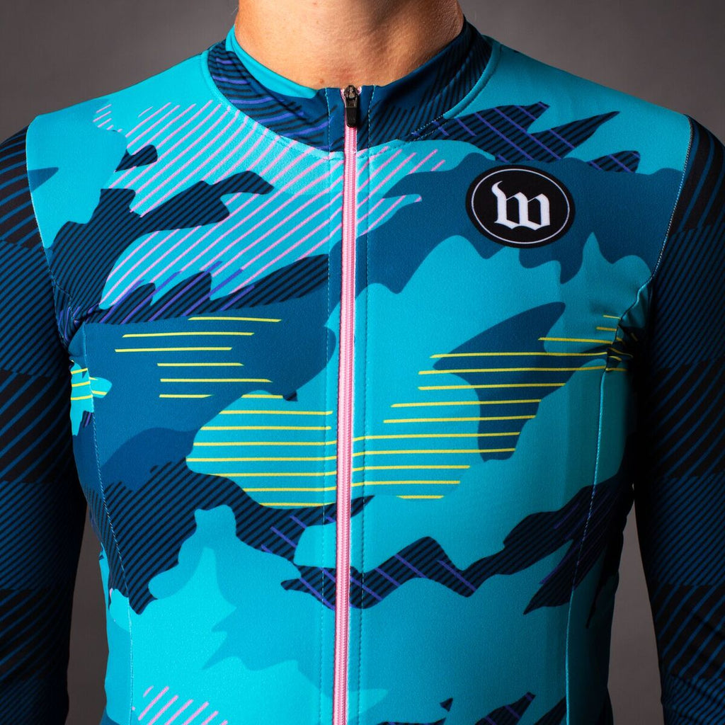 Women's Recon Contender 2.0 Long Sleeve Cycling Jersey - Teal