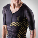 Women's Champion 2.0 Triathlon Speed-Suit - AXIOM Collection - Gold/Black