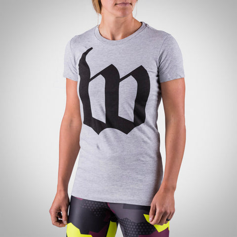 Women's Heather Grey Big W Tee