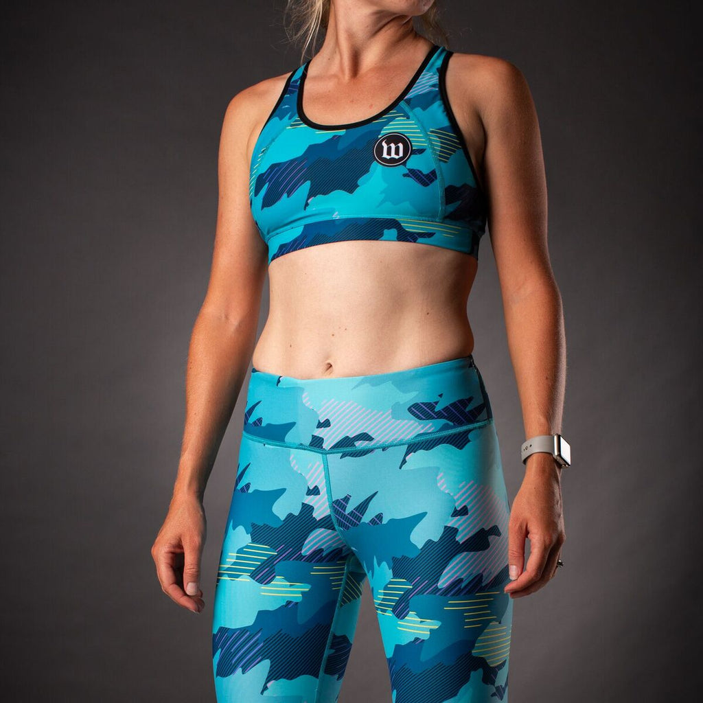 Women's Recon Contender 2.0  Race Bra - Teal
