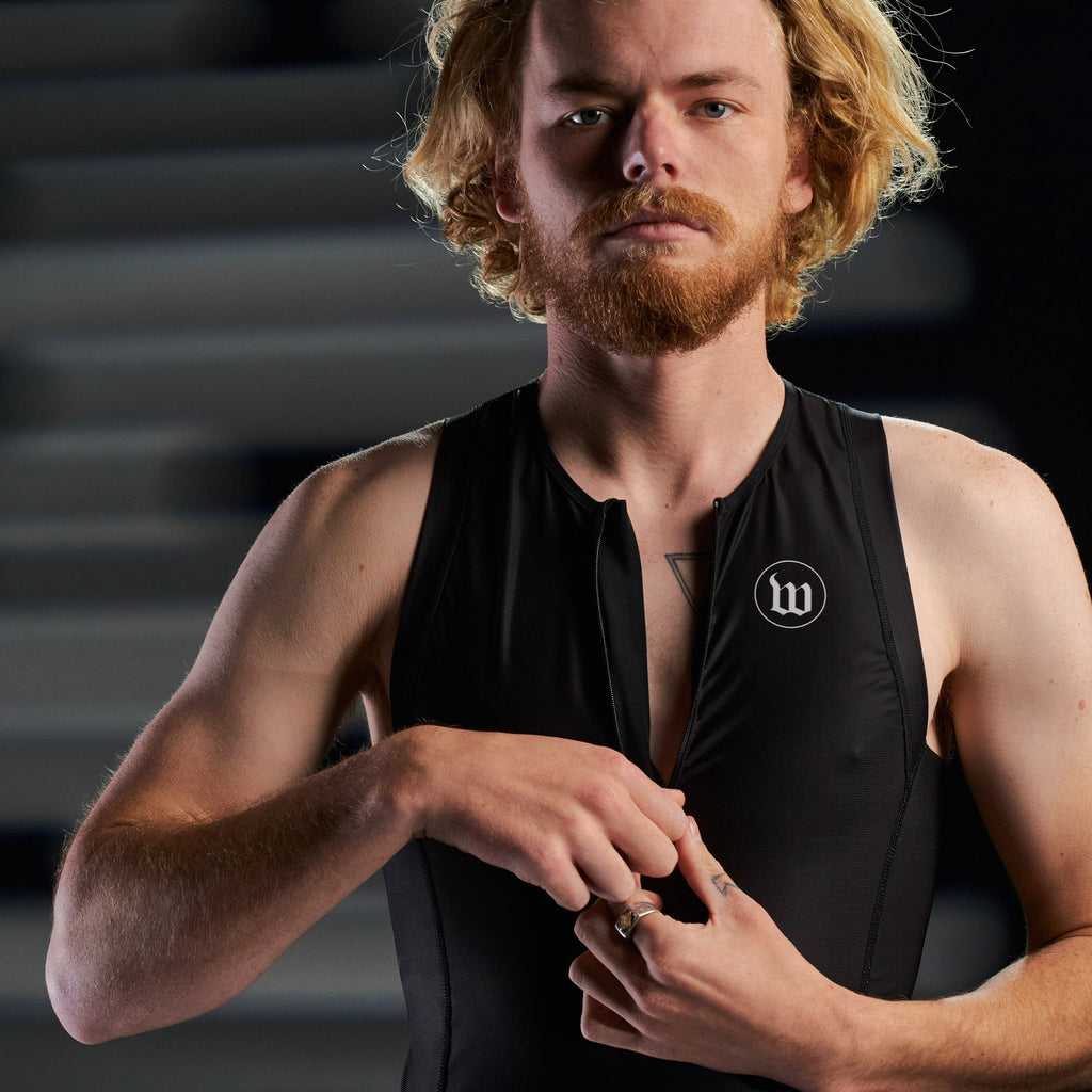 Men's Tri Top - Black