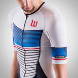 Men's Race Day Speedsuit - White