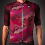 Men's Recon Contender 2.0 SS Cycling Jersey - Maroon