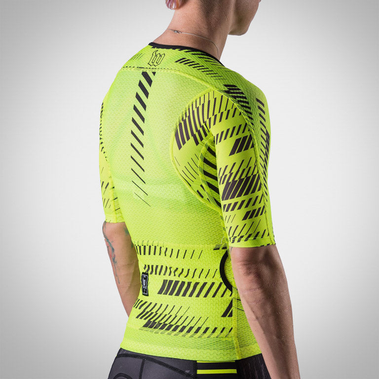 Women's Champion Aero Jersey - AXIOM Collection - Neon Ice/Black