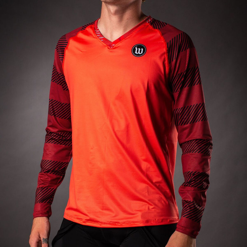 Men's Recon Long Sleeve Run Shirt - Titan
