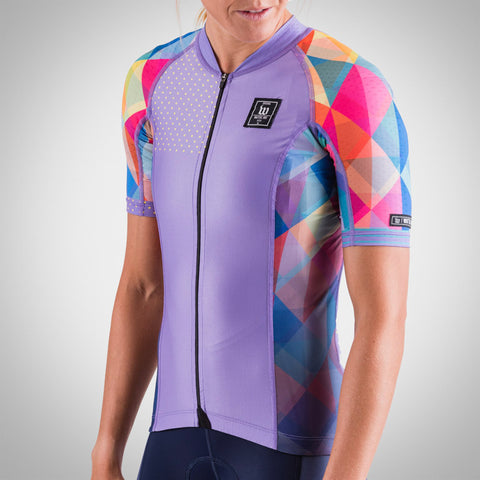 Women's Prism Lavender Contender 2 Cycling Jersey