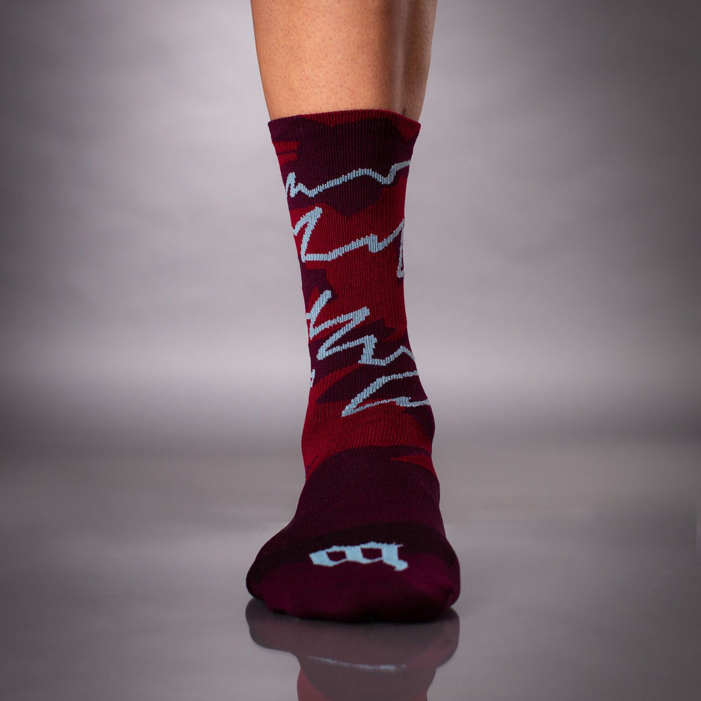 Recon Socks - Maroon