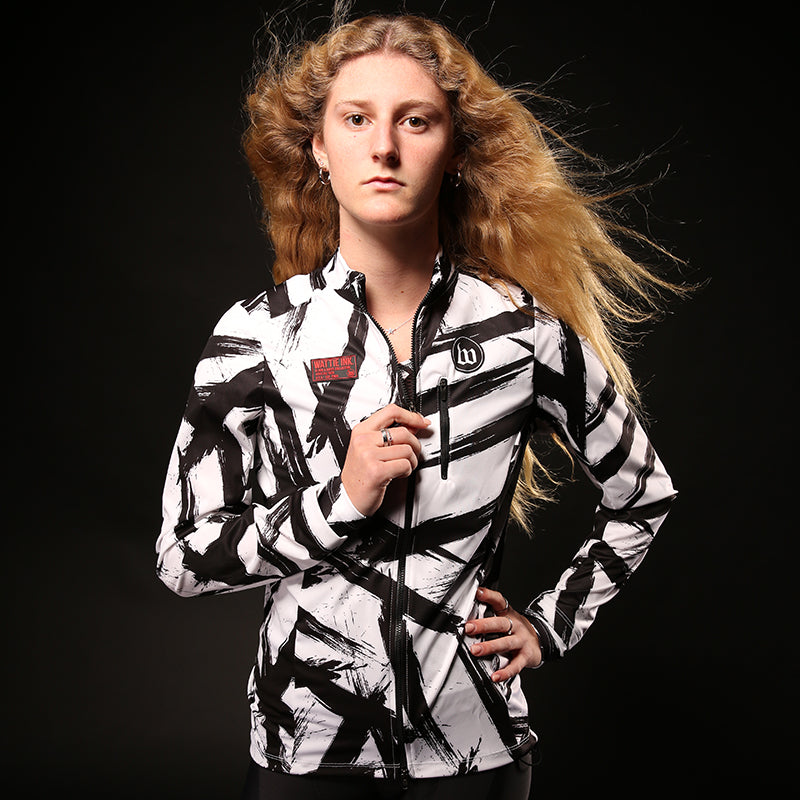 Black & White Collection Double Threat Women's Jacket - Bolt
