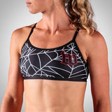 Women's Black Widow Triple Threat Sport Top