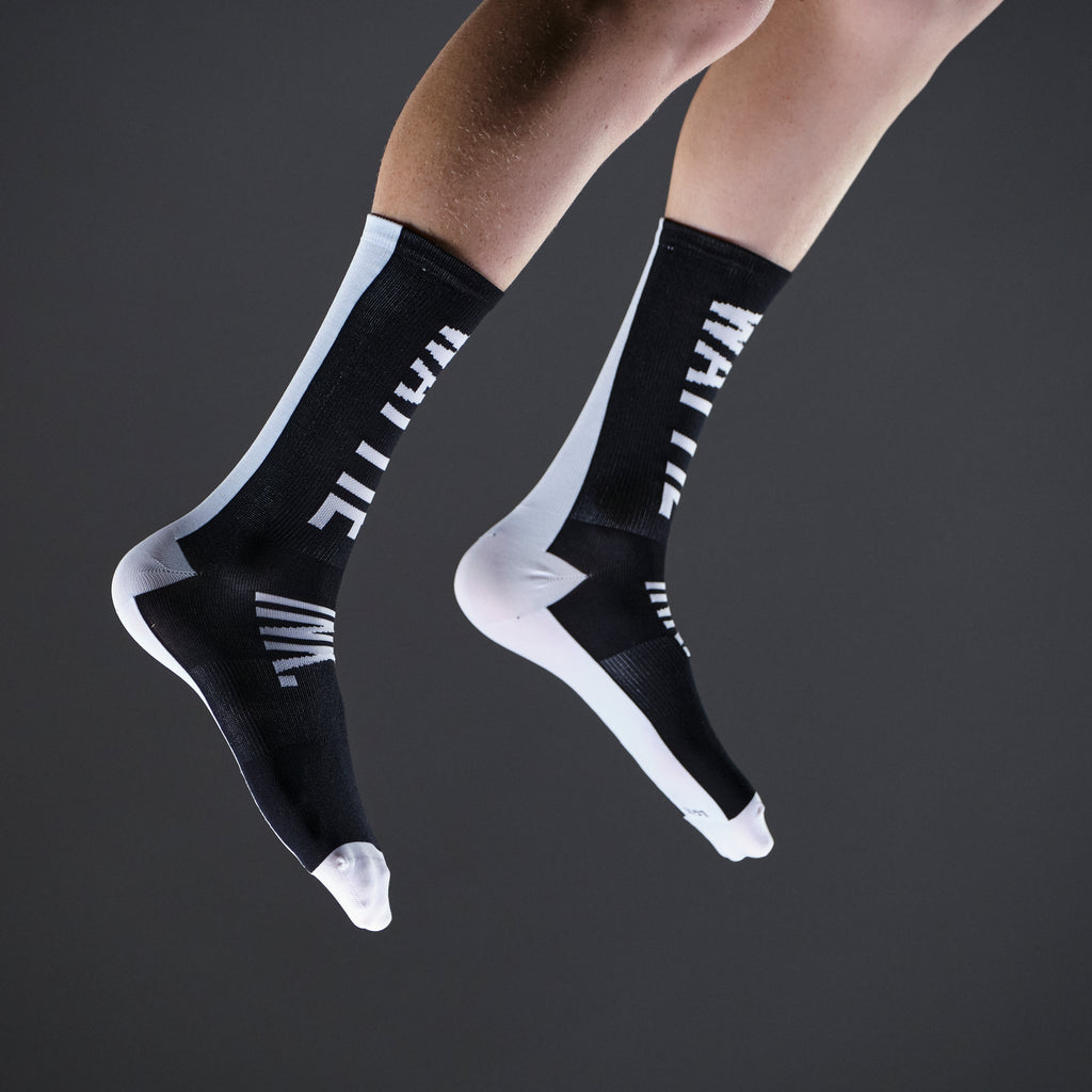 BIGTYPE Socks - Black