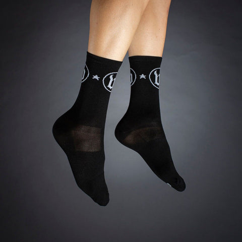 The W Classic Black Socks