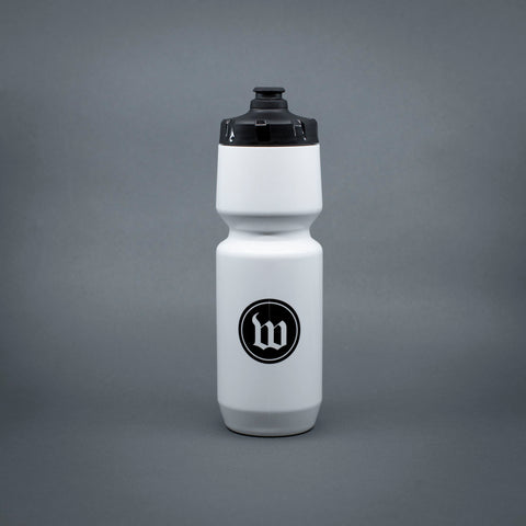 Wattie Ink. Water Bottle - White