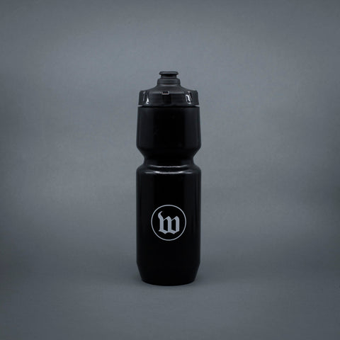 Wattie Ink. Water Bottle - Black
