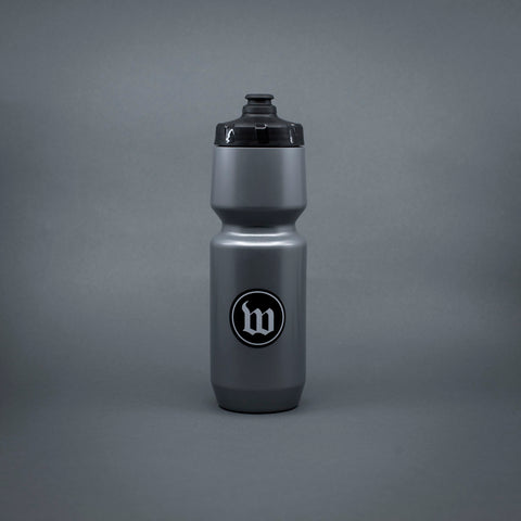 Wattie Ink. Water Bottle - Grey