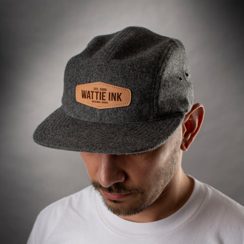Wattie Leather Patch Hat
