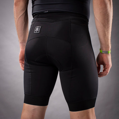 Men's Classics Collection Black Aero Triathlon Short