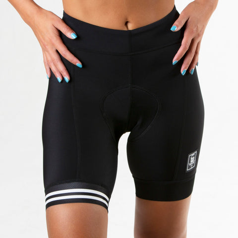 Women's Classic Black Aero Cycling Short
