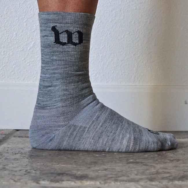 "Wattie Ink. ""Woolies"" Heather Wool Socks"