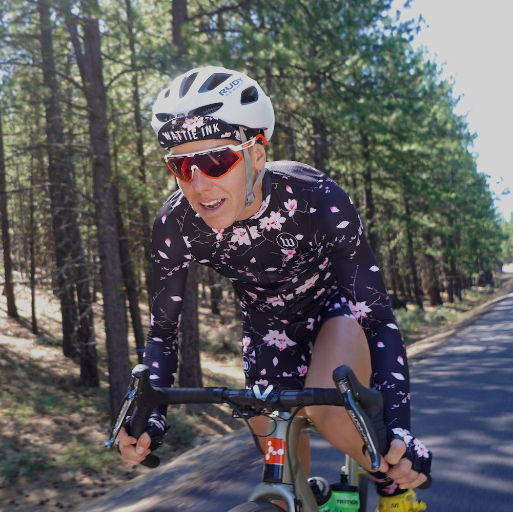 Women's Hana Collection SuperFly Long Sleeve Summer Jersey - Floral