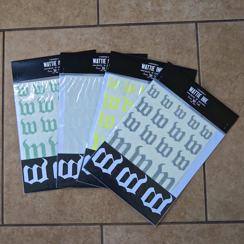 Wattie Ink. Sticker Packs
