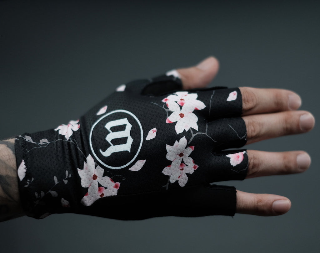 Hana Collection All Road Gloves - Floral