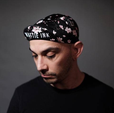 Hana Collection Cycling Cap Unisex One Size - Floral