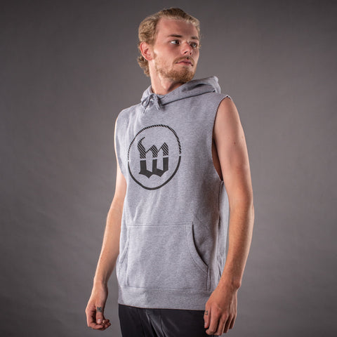 Strand Mens Pullover Sleeveless Hoodie