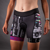 Network Collection Tech Contender 2.0 Womens Tri Bottom - Black/White