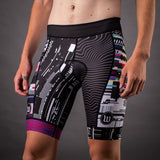 Network Collection Tech Contender 2.0 Mens Tri Bottom - Black/White