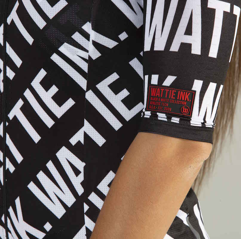 Women's Black + White Contender 2.0 Cycling Jersey - The W