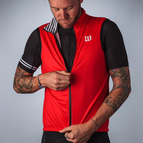 Men's Classics Collection Red Thermal Aero Vest