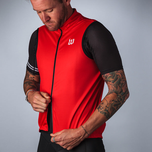 Men's Classics Red Thermal Vest